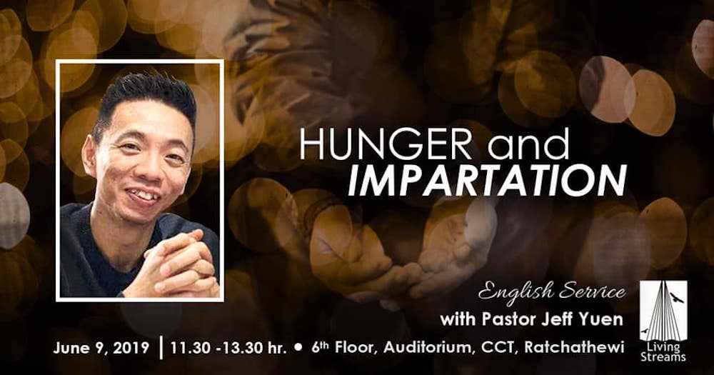 Hunger and Impartation Image