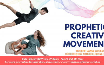 Prophetic Creative Movement – Worship Dance Workshop
