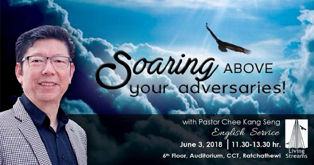 Soaring above your adversaries  Image