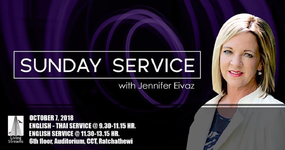 Sunday Services with Pastor Jennifer Eivaz  Image