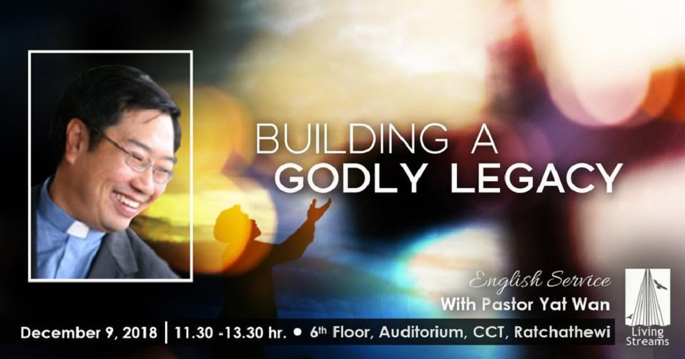 Building a Godly Legacy Image