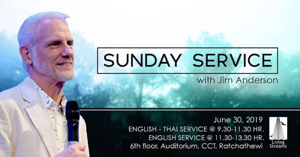 Sunday Service with Jim Anderson - 2nd Service Image