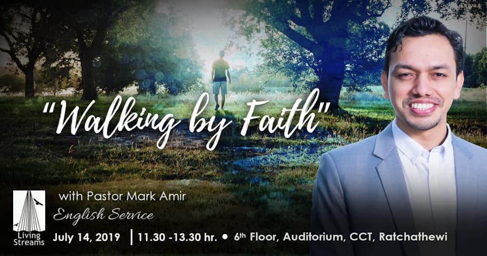 Walking By Faith Image