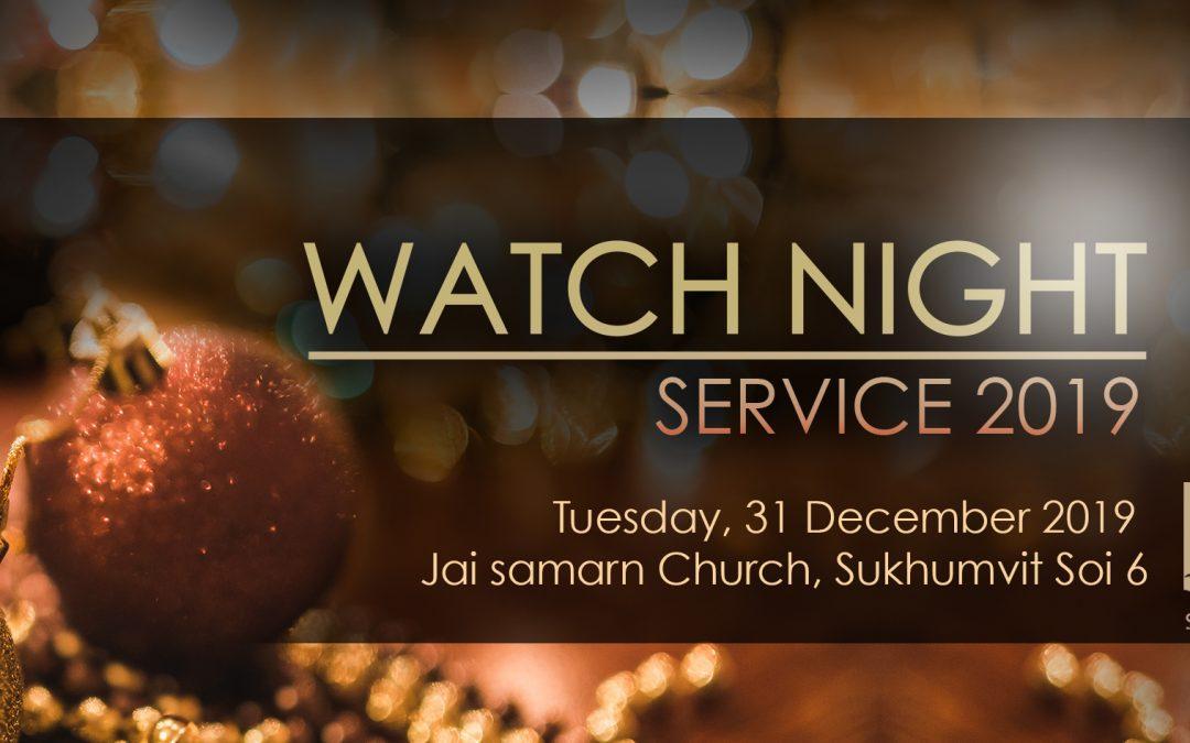 Watch Night Service 2019