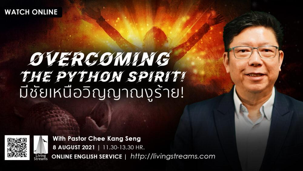 Overcoming the Python spirit!   Image